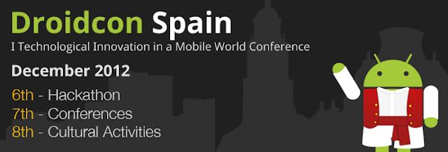 Droidcon Spain: el primer evento de Android en España