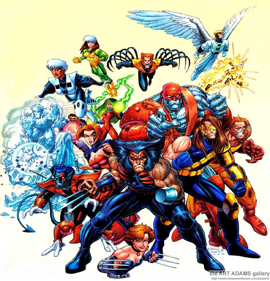 Kumpulan Gambar X Men
