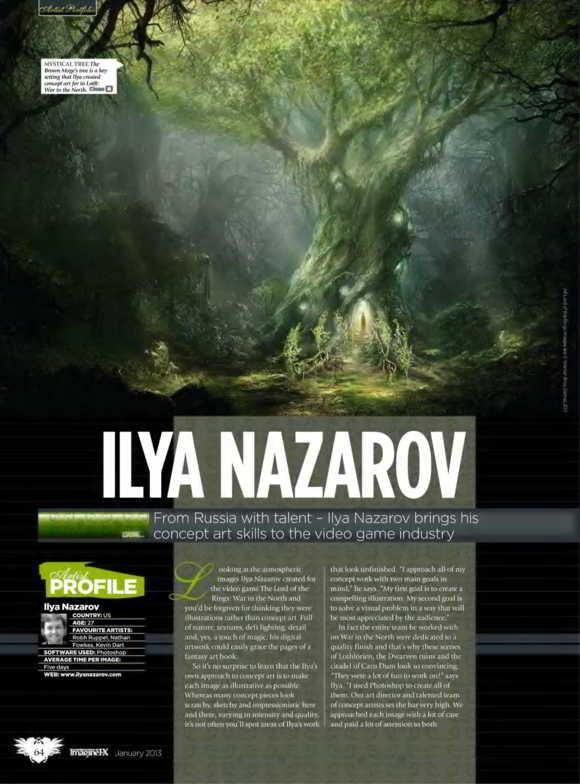 Imagine FX Magazine Issue 91 January 2013