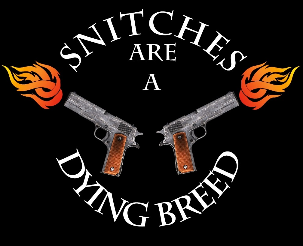 Snitches are a dying breed shirt
