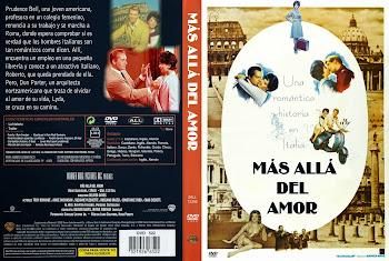 Carátula dvd: Más allá del amor (1962) (Rome Adventure )