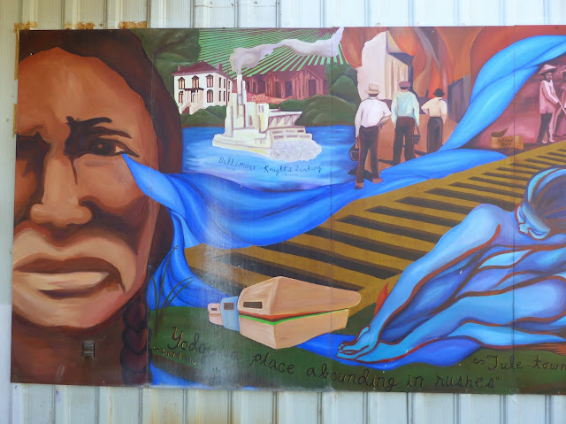 """Listen: We and the River Have Stories to Tell""–The Mural at Knights Landing"