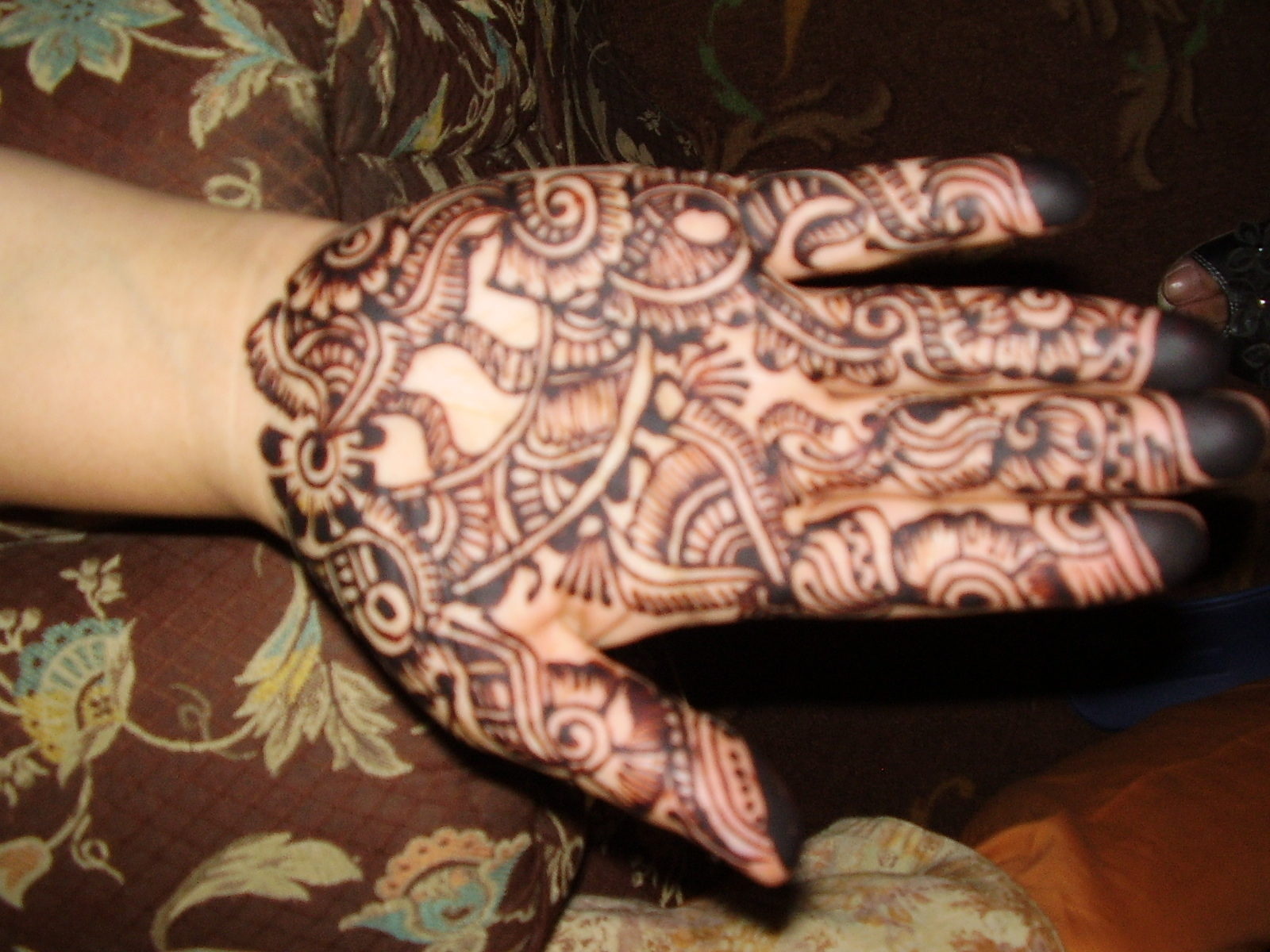 Youth Journalism International Artful Henna Designs Add Beauty To