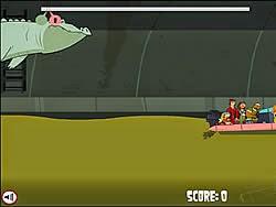 Cá sấu săn mồi, game phieu luu