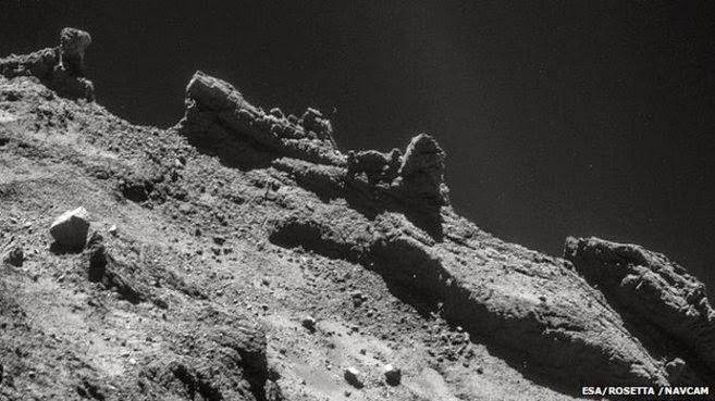 Estas moléculas contienen elementos de carbón, que son la base de la vida en la tierra.