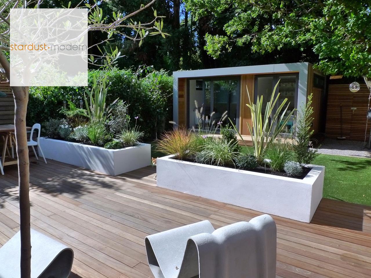 modern interior design: small-space garden design ideas : garden
