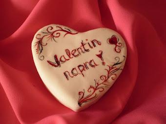 Valentin napi minitorták