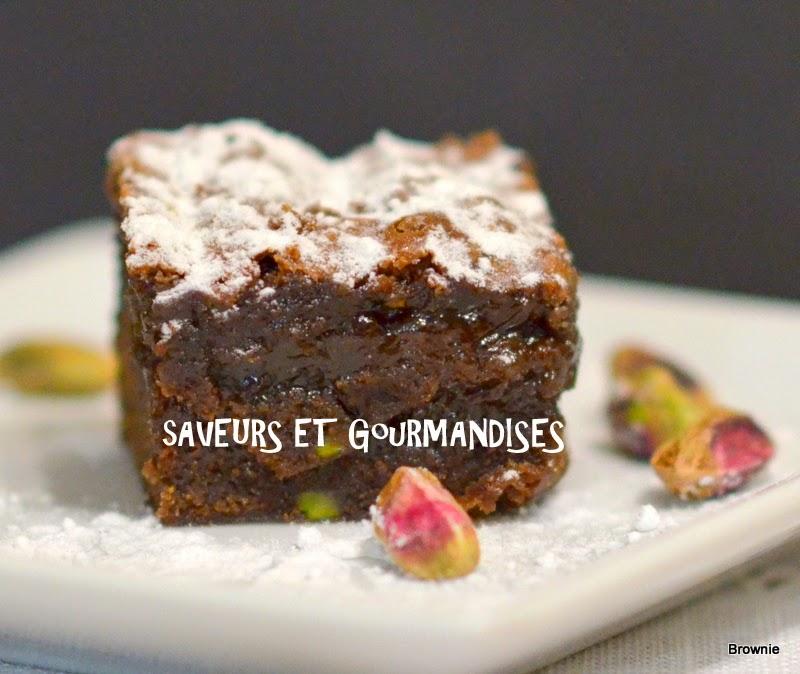 Brownie  Nutella /Spéculoos.