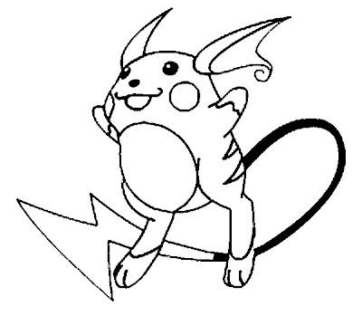desenhos Pokemons
