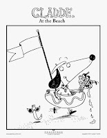 The World of Peachtree Publishers: Printable CLAUDE Coloring Book ...