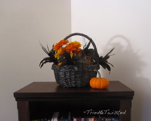 Raven Feather Halloween Display | Tried and Twisted