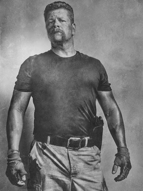 Michael Cudlitz como Abraham – The Walking Dead _ sexta temporada, Silver Portraits – Photo Credit: Frank Ockenfels 3/AMC