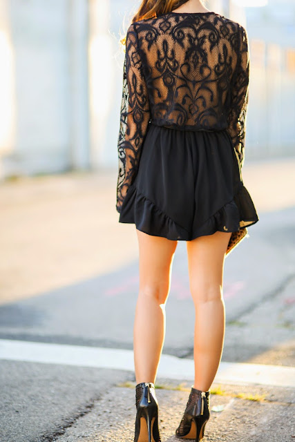 Black lace dress, never MISsuits you