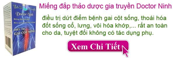 Miếng đắp thảo dược Doctor Ninh