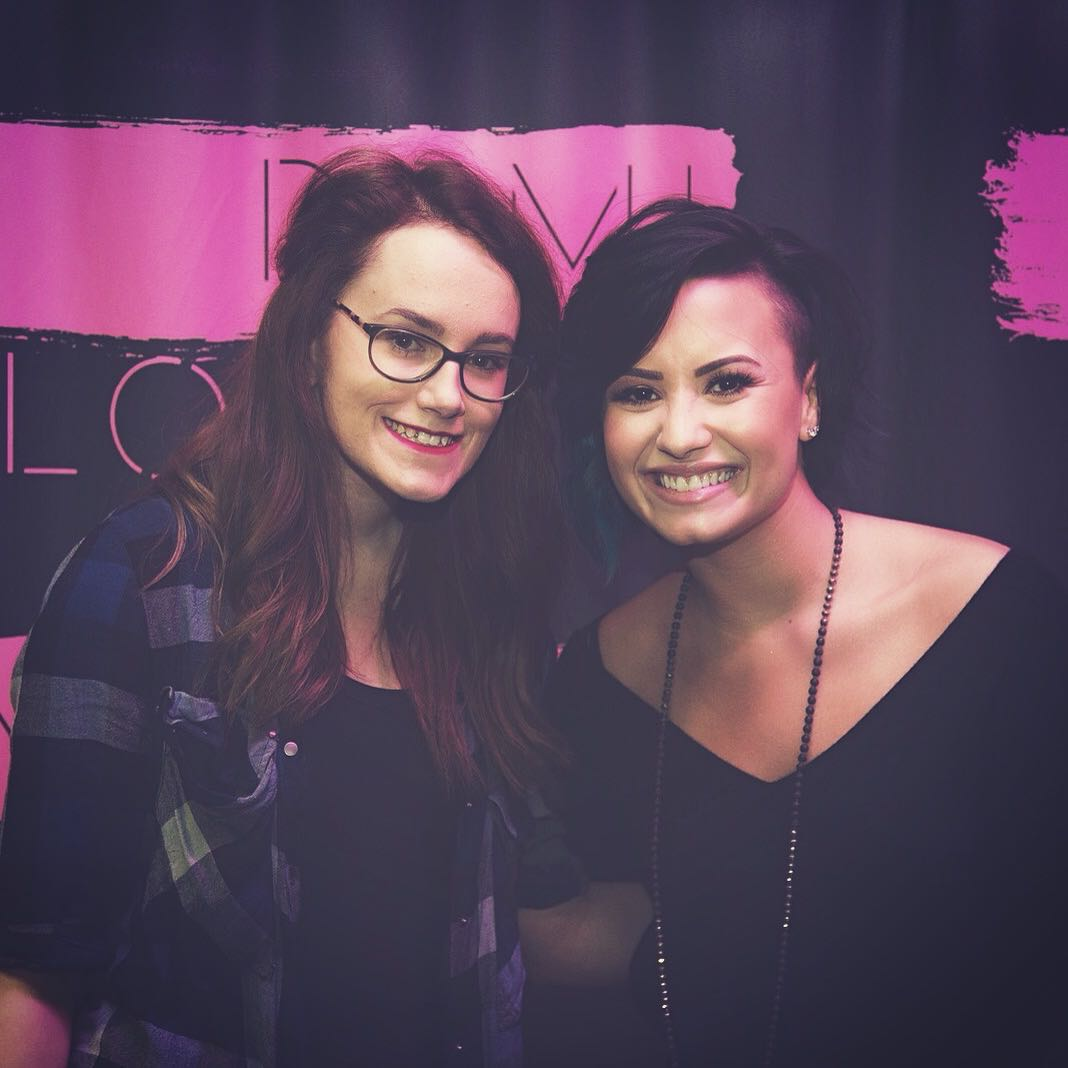 demi lovato irish meet and greet