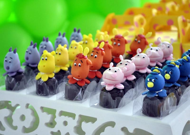 Fiesta Temática de Backyardigans - Birthday Party | Arcos con ...