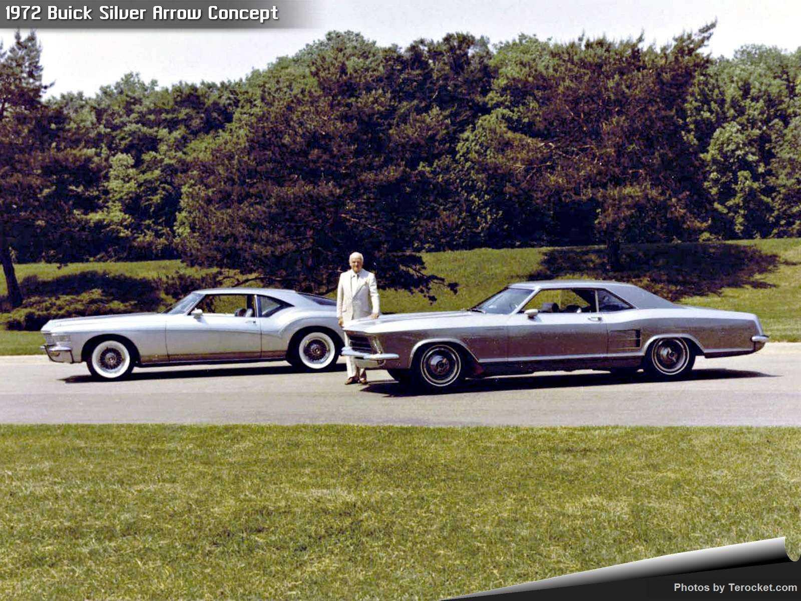 Hình ảnh xe ô tô Buick Silver Arrow Concept 1972 & nội ngoại thất