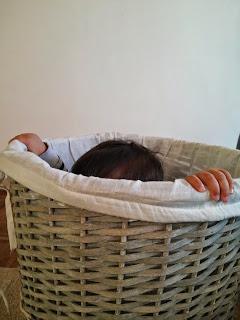 baby laundry peekaboo