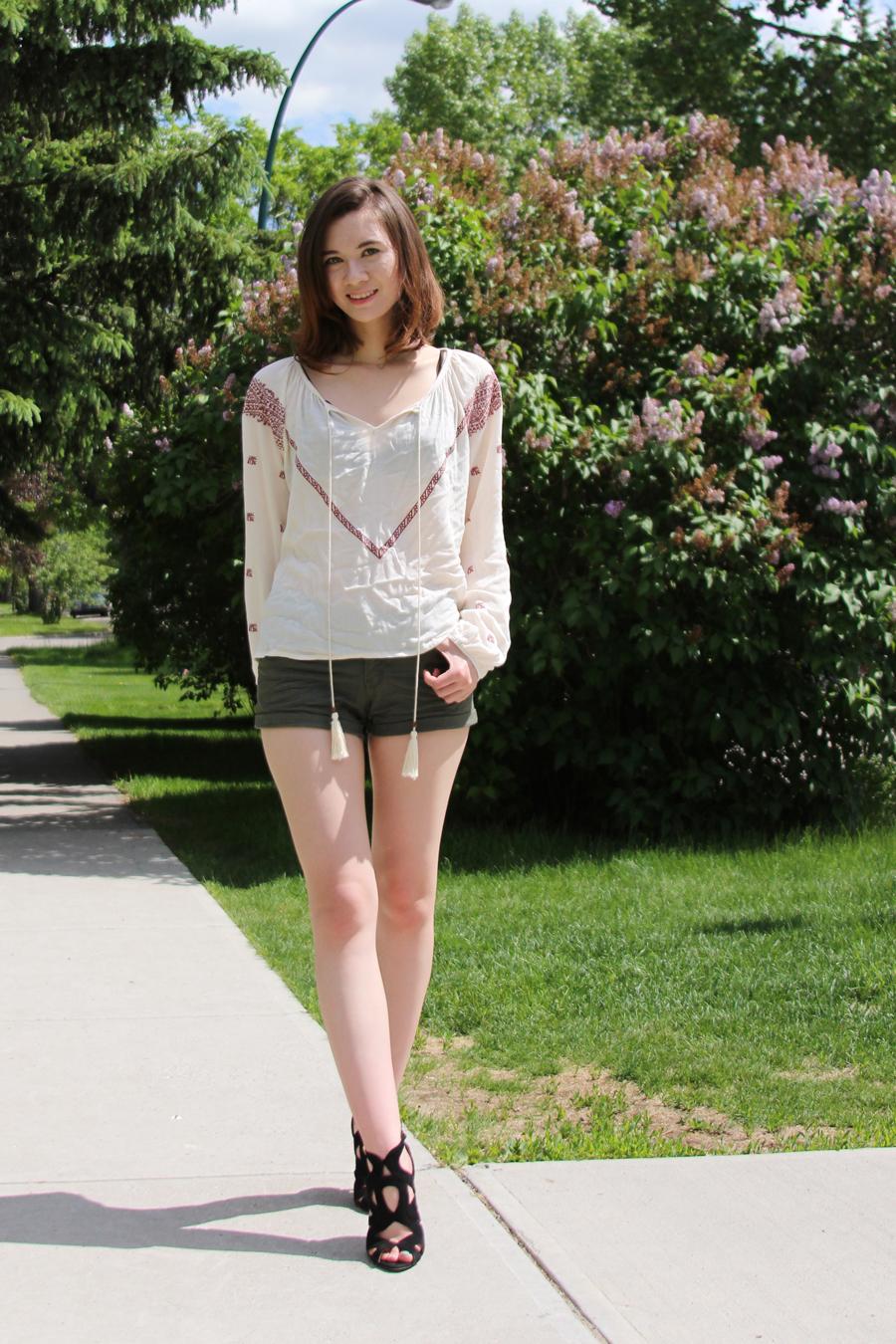 bohemian, street style, nasty gal, h&m, zara, summer fashion