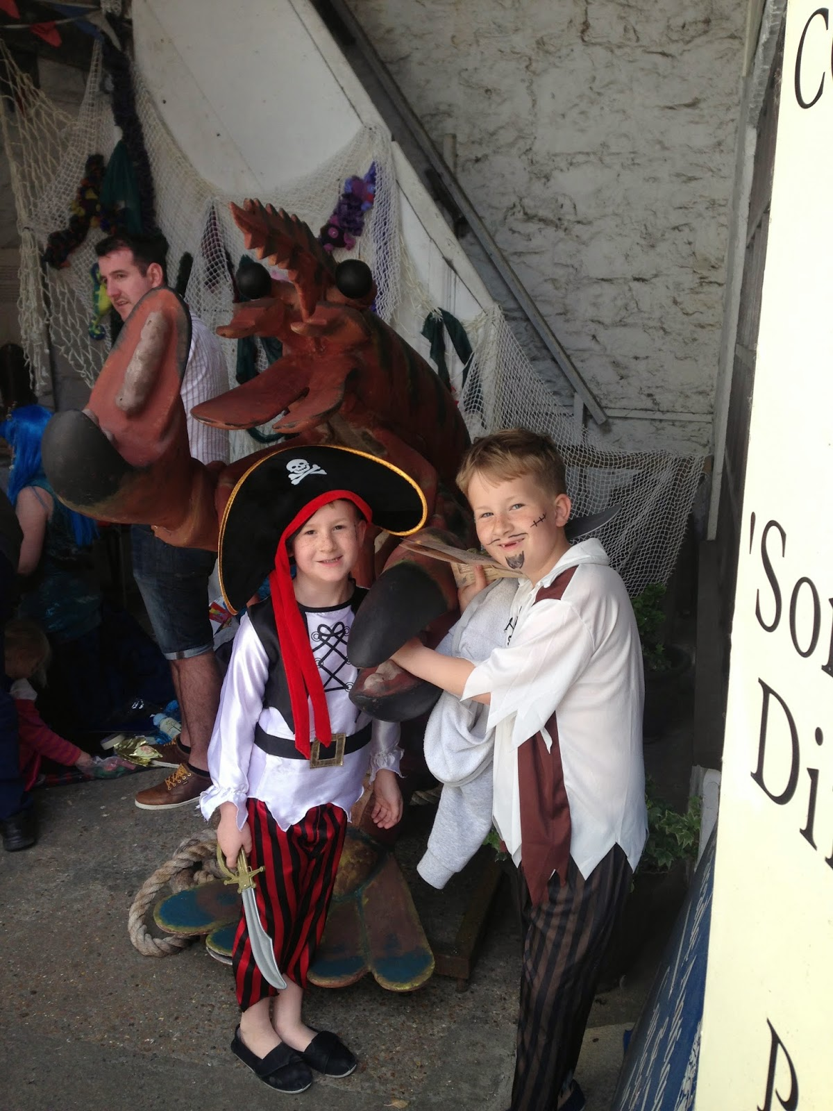 Philip the prawn, prawn, squid, antique, shop, plymouth, fun, pirate, weekend, day,
