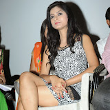 Ruby Parihar Photos in Short Dress at Premalo ABC Movie Audio Launch Function 83