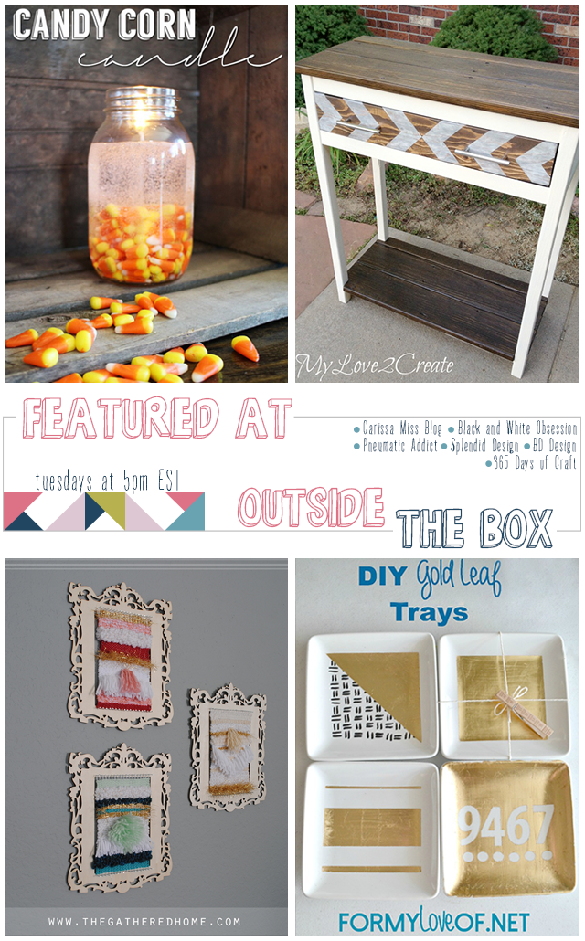 Outside [the Box] No. 5: Weekly Link Party, Visit www.blackandwhiteobsession.com to link up and be inspired #linkparty #outsidetheboxparty