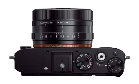 Sony Cyber-Shot RX1X Lens And Shooter Buttons