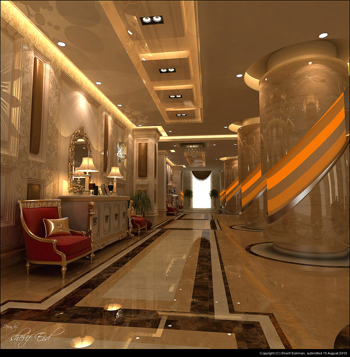 Furniture interior column pillar for Interior pillar designs
