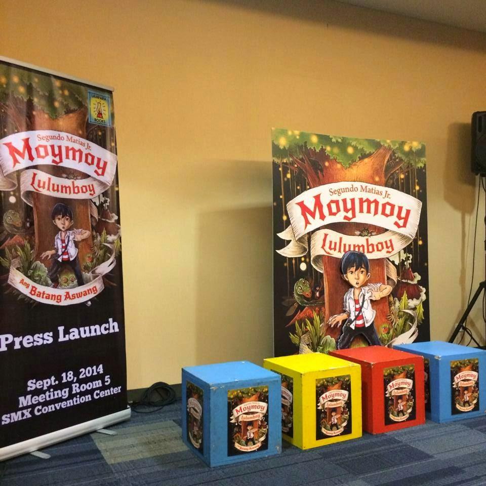 Lampara Books Launches Moymoy Lulumboy Ang Batang Aswang Wazzup Pilipinas News And Events