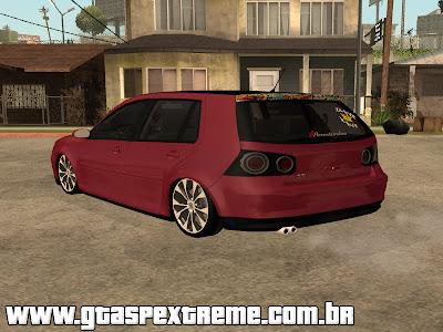 Vw Golf GTI 2008 Sticker Bombs para GTA San Andreas