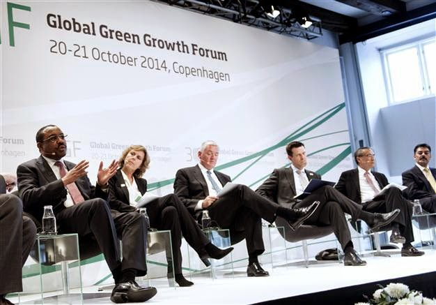 Global Green Growth Forum (Credit: AFP) Click to enlarge.