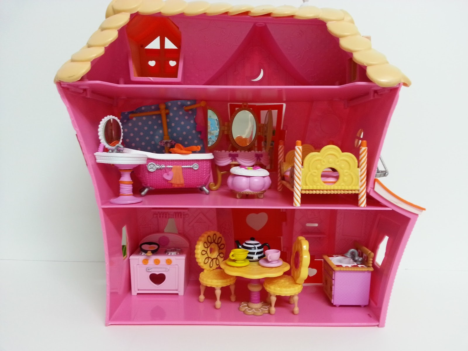 Lalaloopsy Doll House Furniture   Ch 233 Rie Mini Lalaloopsy Sew Sweet  Playhouse