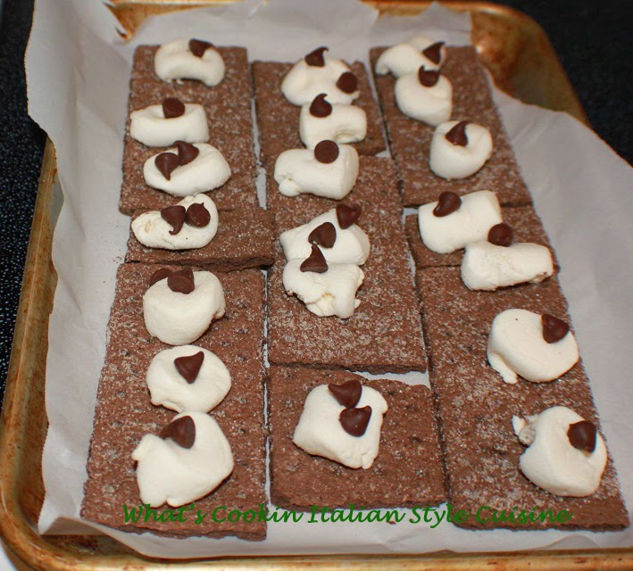 S'mores Stuffed Brownie Video Recipe | What's Cookin ...