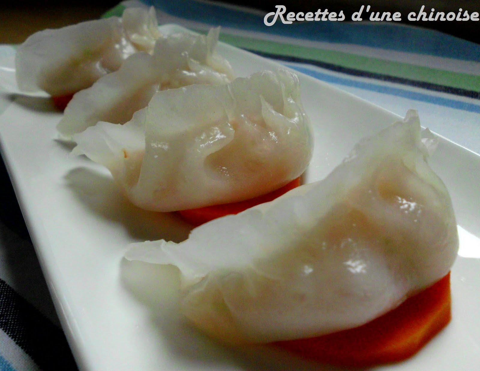 raviolis aux crevettes 224 la vapeur ha kao 蒸虾饺 zhēng xiā jiǎo recettes de g 226 teaux