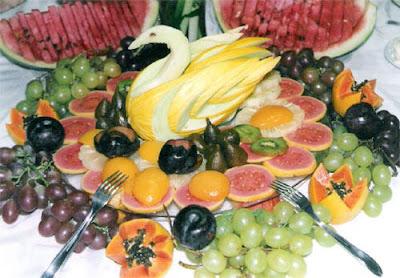 Dicas de Decoração de Frutas