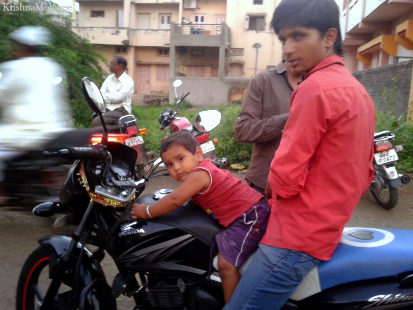Image: Baby Motorbiker