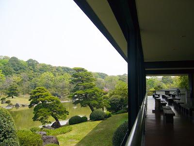 万博記念公園・日本庭園 中央休憩所