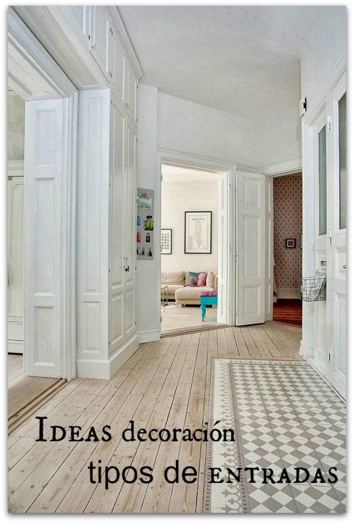 En casa de oly 15 ideas de decoraci n para cada tipo de entrada - Ideas para entradas de casa ...