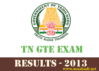 GOVERNMENT TECHNICAL EXAMINATION AUGUST 2013- RESULTS