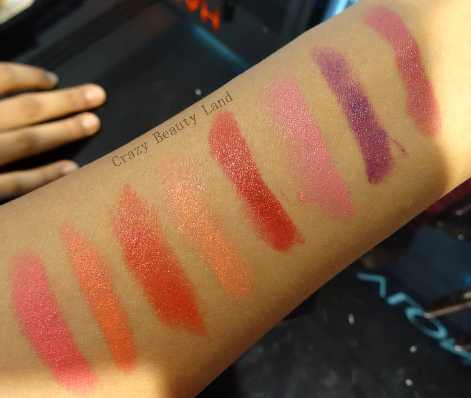 Revlon Colorburst Matte Balm Swatches Elusive, Unapologetic, Shameless, Sultry, Mischievous, Striking, Audacious, Standout