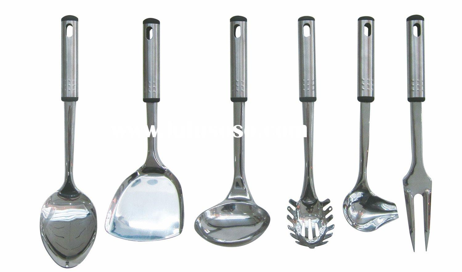 Stainless steel cooking utensils images for Kitchen utensils names