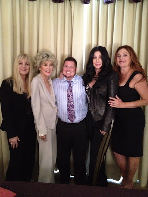 Georgina LaPiere, Georgia Holt, Chaz Bono, Cher and Paulette Betts