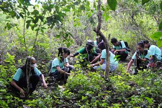 Pelatihan Kader Konservasi TWA Pulau Bakut