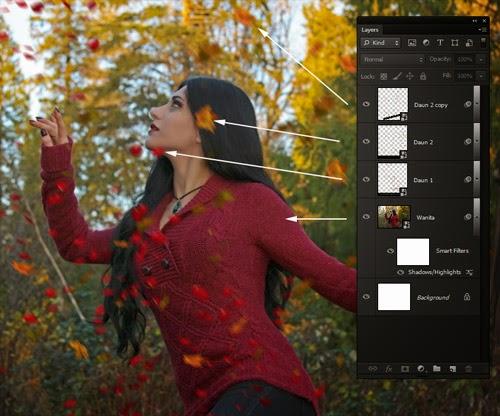 Langkah 5.2 Cara Menambahkan Motion Blur pada Foto di Photoshop CS6