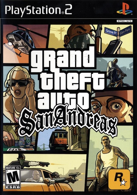 [PS2] GTA San Andreas download