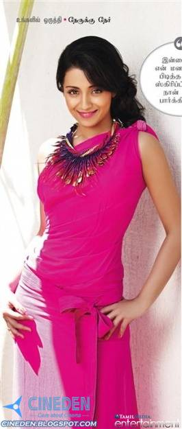 Trisha Krishnan Hot Stills from The Cover of Femina Magazine Tamil April 2011