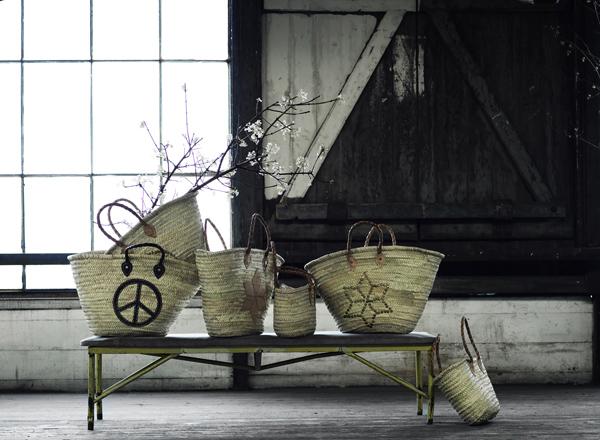 tine k home baskets. Black Bedroom Furniture Sets. Home Design Ideas