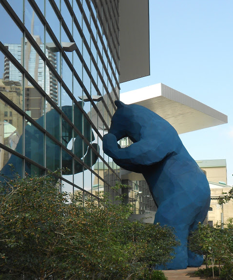 Colorado Convention Center With Lawrence Argent Sculpture: C Bakunas Art: Denver Public Art: Take An Ordinary Object