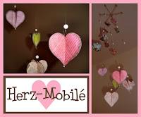 In Gut In Einem Monat Ist Valentinstag   Wisst Ihr Schon, Was Ihr Euren  Lieben Schenkt? Da Ich Schon Immer Mal Ein Mobile Basteln Wollte, Und Ein  Bücherfan ...