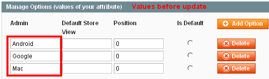 Add/Update Attribute Option Values Programmatically in Magento